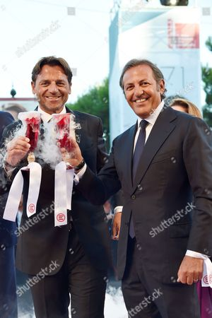 Editorial image of 'Together for 20 years of Emergency' film premiere, 71st Venice International Film Festival, Italy - 28 Aug 2014