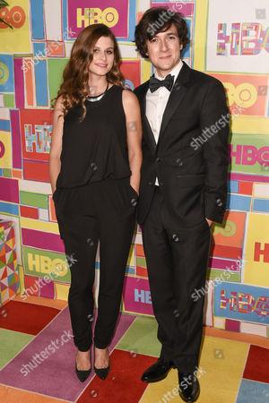 Josh Brener and Meghan Falcone