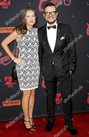 Karen Coronado and Aleks Syntek