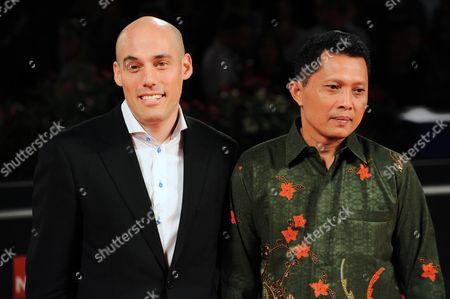 Joshua Oppenheimer and Adi Rukun