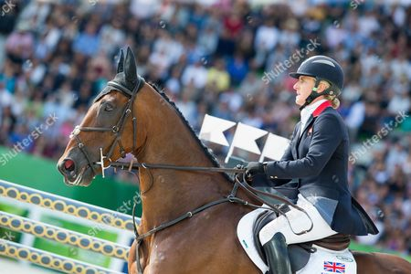 Kristina Cook and De Novo News - Jumping Eventing - Alltech FEI World Equestrian Games? 2014 - Normandy, France.