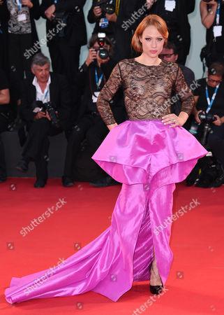 Editorial photo of '3 Coeurs' film premiere, 71st Venice International Film Festival, Italy - 30 Aug 2014
