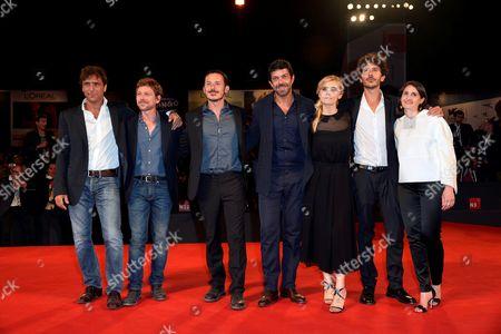Michele Alhaique, Pierfrancesco Favino, Greta Scarano, Claudio Gioe', Adriano Giannini