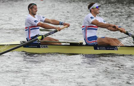 Editorial picture of World Rowing Championships, Amsterdam, The Netherlands - 30 Aug 2014