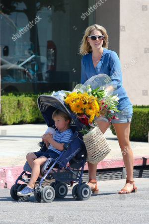Ali Larter and son Theodore Hayes MacArthur