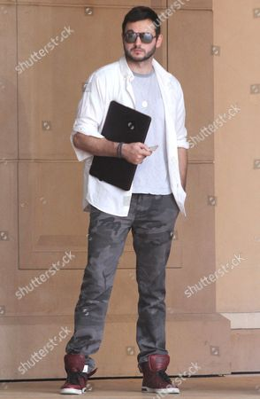 Editorial picture of Matthew Rutler out and about in Los Angeles, America - 29 Aug 2014