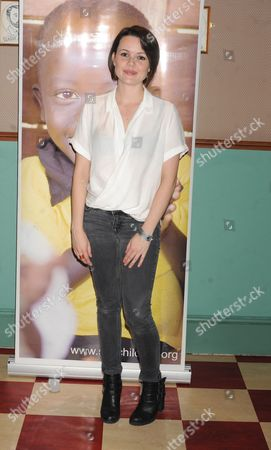 Editorial image of Tanya Franks Belated Birthday Bash & Benefit for SOS Children's Villages, London, Britain - 31 Aug 2014