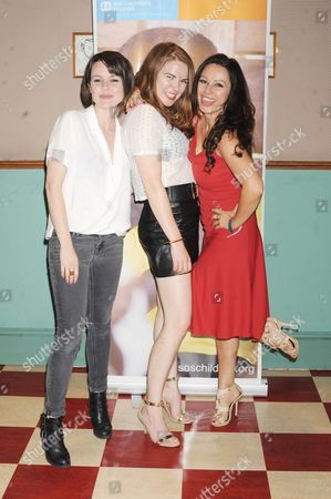Editorial picture of Tanya Franks Belated Birthday Bash & Benefit for SOS Children's Villages, London, Britain - 31 Aug 2014