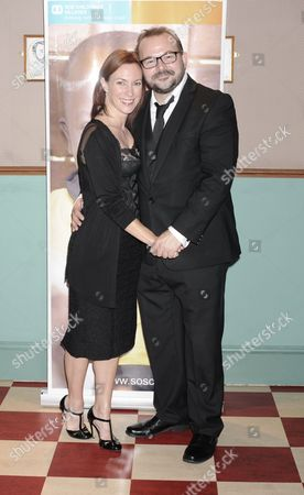 Stock Photo of Tanya Franks and James Barriscale