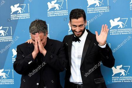Director Amos Gitai, Adam Tsekhman
