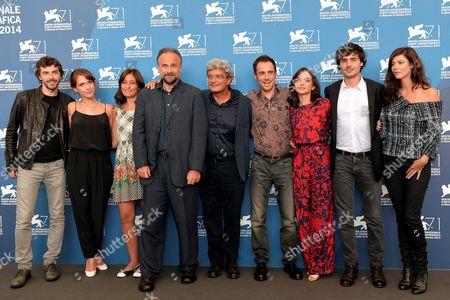 Director Mario Martone and cast Elio Germano, Michele Riondino, Anna Mouglalis, Massimo Populizio, Isabella Ragonese, Edoardo Natoli