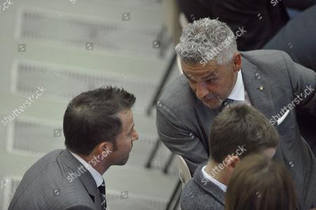 Alessandro Del Piero and Roberto Baggio