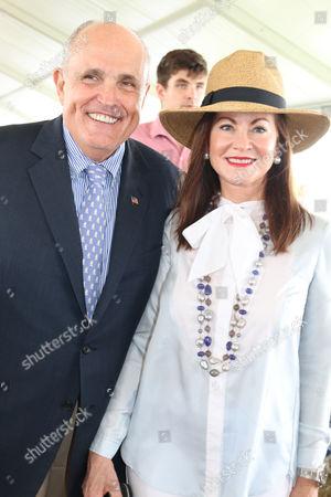 Rudy Giuliani and Judith Nathan Giuliani