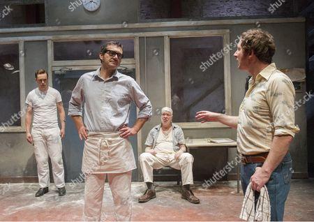 'Toast' - Finlay Robertson, Steve Nicolson, Matthew Kelly and Matt Sutton