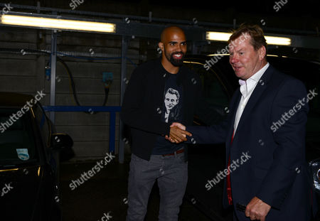 20.45 Sandro arrives at QPR and is greeted by Chief Executive Philip Beard