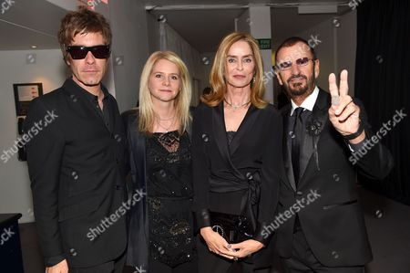 Barbara Bach and Ringo Starr with Jay Mehler and Lee Starkey