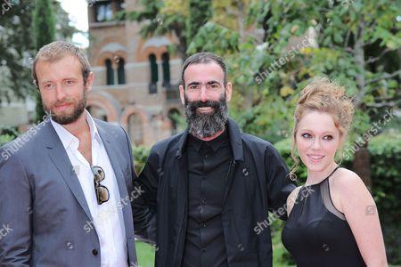 Benjamin Dilloway, Duane Hopkins and Charlotte Spencer