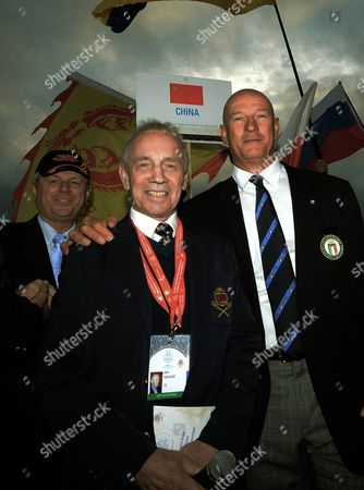 Ambassador of Australia Mike Rann, President on International Federation Mike Haslam, Olympic and world canoe champion Daniela Scarpa