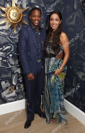 Adetomiwa Edun and Oona Chaplin