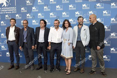 Sabina Guzzanti and cast Enzo Lombardo, Ninni Bruschetta, Filippo Luna, Franz Cantalupo, Claudio Castrogiovanni