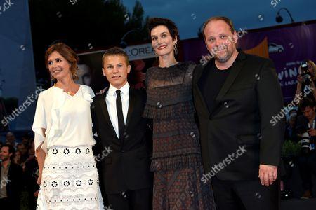 Alix Delaporte, Romain Paul, Clotilde Hesme, Gregory Gadebois