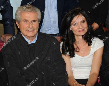 Claude Lelouch et Salome Lelouch