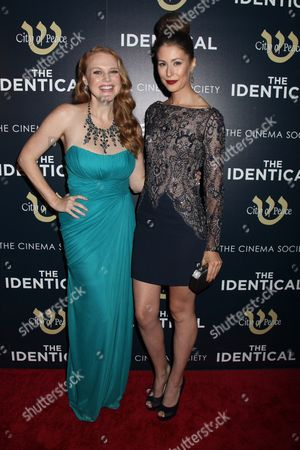 Editorial image of 'The Identical' film screening at the Cinema Society, New York, America - 03 Sep 2014