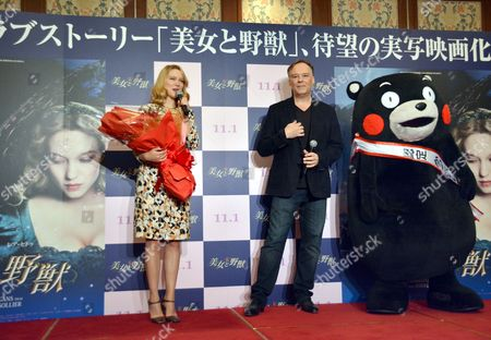 Editorial picture of 'Beauty and the Beast' film photocall, Tokyo, Japan - 04 Sep 2014