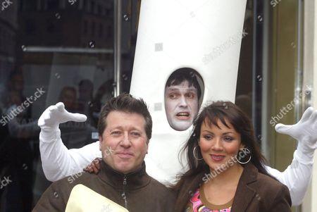Editorial photo of MARTINE MCCUTCHEON LAUNCHING 'NO SMOKING DAY', LONDON, BRITAIN - 12 MAR 2003