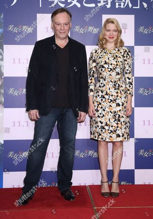 Director Christophe Gans and Lea Seydoux