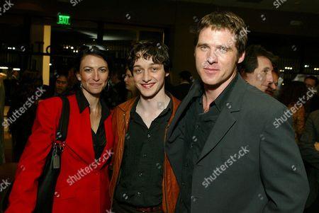 Claudia Black, James McAvoy & Ben Browder