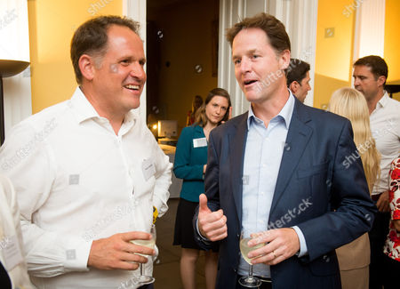 Deputy Prime Minister Nick Clegg hosts a reception to celebrate his launch of the free school meals campaign with Henry Dimbleby, founder of Leon restaurant.
