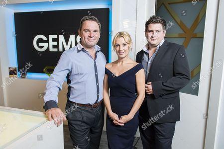 Steve, Sarah and Matt Bennett