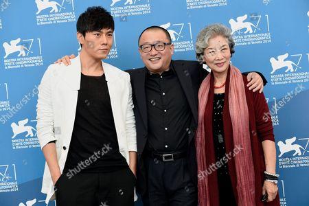 Qin Hao, the director Wang Xiaoshuai, Lu Zhong