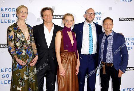 Nicole Kidman, Colin Firth, Anne-Marie Duff, S J Watson Rowan Joffe