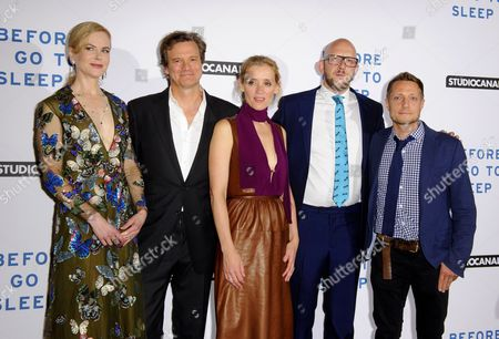 Nicole Kidman, Colin Firth, Anne-Marie Duff, S J Watson and Rowan Joffe