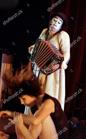 Tango dancers Dana Gingras and Noam Gagnon, accordionist / singer Martyn Jacques