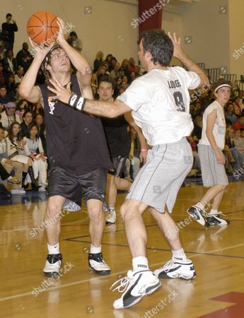 Editorial image of FRANKIE MUNIZ HOSTS 'HOOPLA' CELEBRITY BASKETBALL GAME, SANTA MONICA, AMERICA - 15 MAR 2003