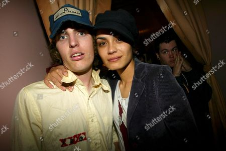 Stock Picture of Dallas Clayton and Shannyn Sossamon
