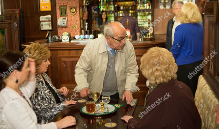 Coronation Street - Ep 8429 Friday 18 July 2014 - 2nd Ep When Julie Carp [KATY CAVANNAGH] throws Dennis Tanner [PHILIP LOWRIE] out during a staged row Rita Tanner [BARBARA KNOX] agrees to let him stay the night with her. Has his plan worked?