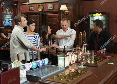 Coronation Street - Ep 8432 Wednesday 23 July 2014 Neil Beckett [WILLIAM TRAVIS] pushes his way into the bar and to Andrea Beckett [HAYLEY TAMADDON] horror, confronts Steve McDonald [SIMON GREGSON], accusing him of having an affair with Andrea. Lloyd Mullaney [CRAIG CHARLES] steps forward and explains to Neil that he's the 'other man', not Steve, and that Andrea has been lying to both of them and he never wants to see her again. How will Neil respond to his admission?