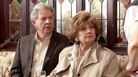 Coronation Street - Ep 8434 Friday 25 July 2014 - 2nd Ep Norris Cole [MALCOLM HEBDEN] confronts Dennis Tanner [PHILIP LOWRIE] and accuses him of stealing £20 from the till. It's clear Rita Tanner [BARBARA KNOX] too thinks he's to blame