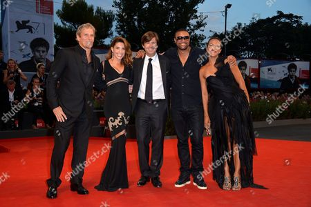 Michael Bolton, Arianna Martina Bergamaschi, Olivier Francois and Shaggy