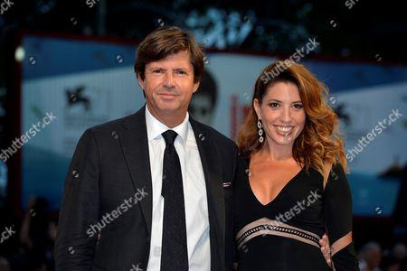 Stock Photo of Olivier Francois and Arianna Martina Bergamaschi