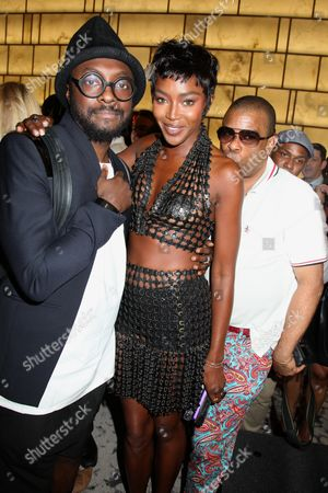 Will i Am, Naomi Campbell and George Wayne