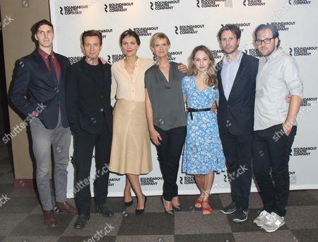 Alex Breaux, Ewan McGregor, Maggie Gyllenhaal, Cynthia Nixon and guests