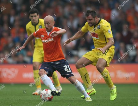 Editorial picture of Sky Bet League 2 2014/15 Luton Town v Plymouth Argyle Kenilworth Road, Luton, United Kingdom - 6 Sep 2014