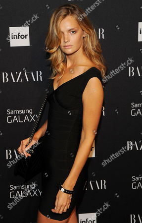 Editorial picture of Harper's Bazaar Celebrate Icons by Carine Outfield, New York, America - 05 Sep 2014