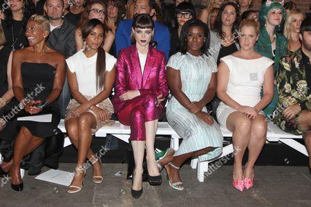 Adrienne Banfield-Jones, Jada Pinkett Smith, Coco Rocha, Uzo Aduba and Amy Schumer