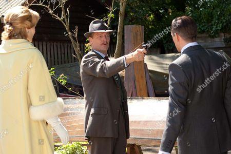 Natasha Little as Elizabeth Powell, Iain Glen as Inspector Mulligan and Jack Davenport as Otto Powell